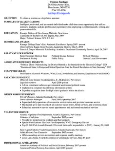 Legislative Analyst Sample Resume Awesome High School Resume Template No Work Experienced  Http .