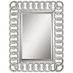 Uttermost Caddoa Rings Mirror 08102