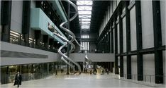 Carsten Holler, Test Site, Installation view of the Turbine Hall at the Tate Modern, London Tate Modern Museum, Tate Modern London, Tate London, What Is Modern Art, Tate Modern Gallery, Turbine Hall, London Attractions, New Museum, Things To Do In London