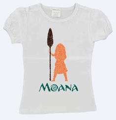 Disney's Moana Toddler Tee by WrightBlingandThings on Etsy