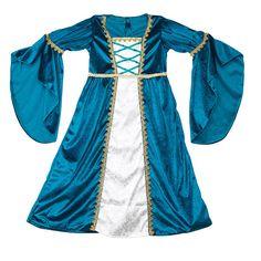 Disfraz de princesa medieval (talla 3-4 años)
