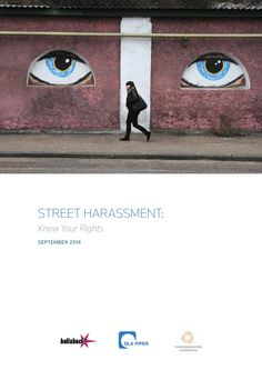 street harrassment: know your rights