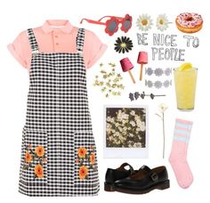 """""""Untitled #146"""" by chickensoup456 on Polyvore featuring Bellfield, Topshop, Name It, Dr. Martens, Shabby Chic and H&M"""