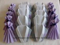 Image result for pliage de serviettes