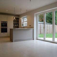 York. Bi-fold doors in dining kitchen nestkitchens.co.uk