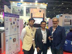 Meet #Abhijit Junagade , the chief impetus behind @WinjitApps  at @gitex Technology Week Booth MAC6 - 28.