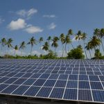 An Island (Tokelau) Powered 100% By Solar Energy. Tokelau (population: 1,500) is an island nation in the South Pacific, made up of three atolls whose highest point is only five meters above sea level. Even though the New Zealand protectorate's contribution to climate change is miniscule, it faces grave threats to its very existence. In 2011, at the Durban Climate conference, Foua Toloa, the head of Tokelau, said the island would be using 100 percent renewable energy by 2012.