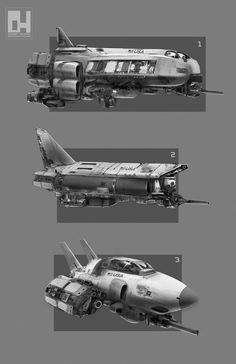Spaceships by 152mm on deviantART