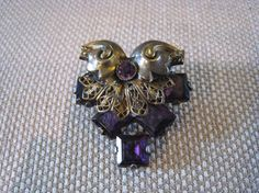 Vintage Brooch by Jape on Etsy, $21.37