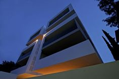 Residential building in Athens by Omniview Athens, Greece, Stairs, Architecture, Buildings, Home, Design, Greece Country, Arquitetura