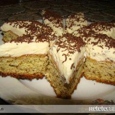 Romanian Desserts, Sweets Recipes, Tiramisu, Banana Bread, French Toast, Cheesecake, Yummy Food, Breakfast, Ethnic Recipes