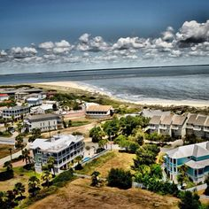 Love this view from the top of the Tybee Island Lighthouse!