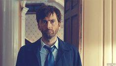 "David Tennant as DI Hardy on BBC's ""Broadchurch"" #LoveTheRagefulAccent"