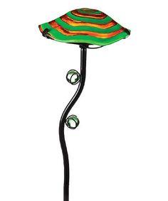 Another great find on #zulily! Green Glow-in-the-Dark Mushroom Garden Stake #zulilyfinds