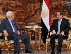 فى اتصال هاتفي ابومازن يشكر السيسي على دور مصر فى حل ازمة غزة