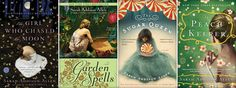Sarah Addison Allen books!  She is an incredible story teller... strongly recommend!