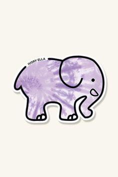 Elephants Photos, Save The Elephants, Diy Stickers, Printable Stickers, Pegatinas Brandy Melville, Ivory Ella Stickers, Indie, Journal Stickers, Cute Diys