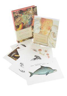 Opulent Oceans Book and Print Set, #ModCloth