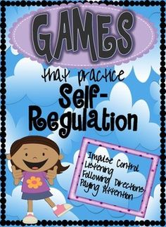 These 17 games practice impulse control, paying attention, listening and following directions. Students focus on having to pay close attention to expectations, and override urges in order to make the most appropriate choice about their actions. Games can be conducted with small or large groups, require NO materials or preparation, and most can be played either indoors our outside.