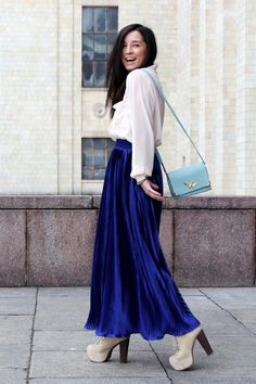 Maxi Skirts Outfit Tips - Glam Bistro