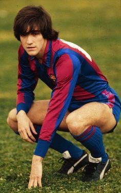 Marcos Alonso venía del Atlético de Madrid y el Barça lo fichó en 1982