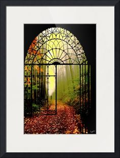 """""""Gates+of+Autumn""""+by+Igor+Zenin,++//++//+Imagekind.com+--+Buy+stunning+fine+art+prints,+framed+prints+and+canvas+prints+directly+from+independent+working+artists+and+photographers."""