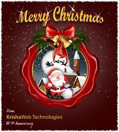 Merry Chrismas From KrishaWeb Technologies
