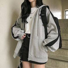 Source by FlowerGiiirl outfits edgy # Outfits coreanos Kpop Fashion Outfits, Mode Outfits, Cute Fashion, Asian Fashion, Style Fashion, Bohemian Fashion, Korean Girl Fashion, Retro Fashion, Korea Fashion