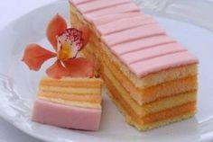 Czech Desserts, No Bake Desserts, Baking Recipes, Cake Recipes, Czech Recipes, Sweets Cake, Pastry Cake, Fancy Cakes, Something Sweet