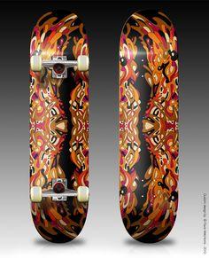 Rad Skateboard decks by Flavio!