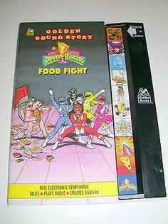 """Golden Electronic Sound Story: MIGHTY MORPHIN POWER RANGERS """"Food Fight"""" Tested on eBay!"""