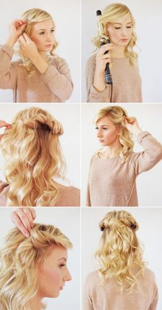 Tutorial Hair Style(15 octombrie 2013)
