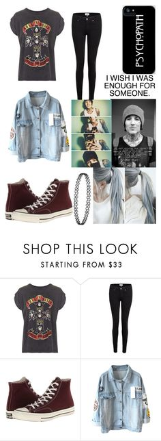 """""""Out with Oli"""" by that-1-awkward-friend1234 ❤ liked on Polyvore featuring And Finally, Paige Denim, Converse and Sykes"""