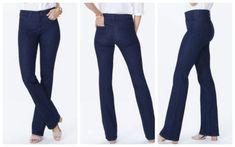 e67268a13d1 NYDJ Barbara Women Jeans Plus Sz 14 Boot Dark Wash Denim Stretch 32