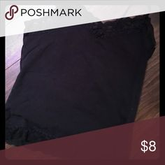 Lace camisole Black with lace trim at top and bottom, perfect for layering Van Heusen Tops Camisoles