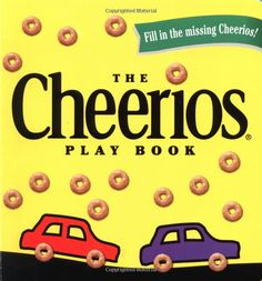 The Cheerios Play Book by  Lee Wade: Tasty interactive fun! #Books #Kids #Cheerios #Fine_Motor_Skills