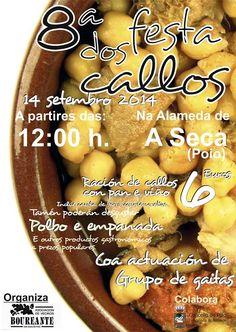 #Fiesta #gastronomica de #callos en #Poio, #Galicia