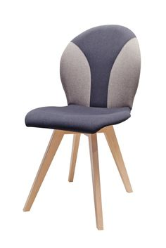 Upholstered  backrest assures proper back support and increases comfort while sitting, X1 chair designed by Klose. #chair #KloseFurniture #diningroom
