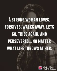 I'm a strong woman. I'm not going to give up. I ❤️ you!!