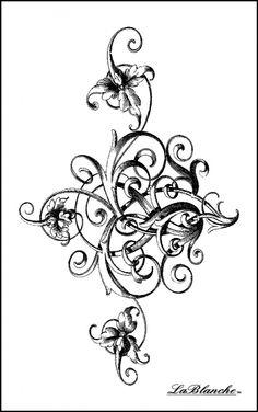 LB1426 Stately Swirl
