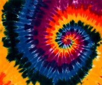 Dark rainbow tie dye pc wallpaper