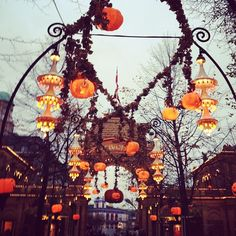 Tivoli dressed for Halloween... #copenhagen #halloween, via Flickr.
