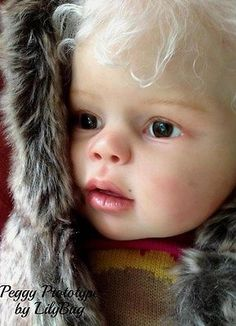 Reborn Doll Toddler,girl, child Prototype Peggy, IIORA Member LilyBug