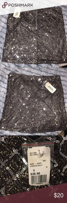Forever 21 mini sparkle skirt Small New with tags Forever 21 Skirts Mini