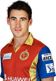 Mitchell Starc - Royal Challengers Bangalore player - IPLT20.com