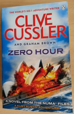 Zero Hour by Clive Cussler and Graham Brown is a NUMA Files adventure, with technology from Nikola Tesla.
