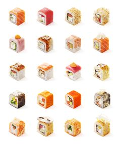 Visual key for delivery service FoodZaza on Behance The Effective Pictures We Offer You About Sushi tattoo A quality picture can tell you many things. You can find the most beautiful pictures that can Sushi Co, Diy Sushi, For Delivery, Recipe Collection, Japanese Food, Food Photo, Asian, Sushi Pictures, Presents