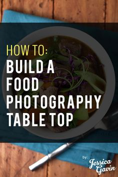 Looking to take your food photos from good to awesome? The right food photography table top and some lights can drastically improve your quality.