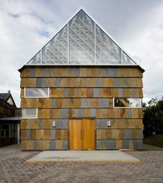 Stunning blend of Slate, Wood and Glass at New Monastery for Cistercian Nuns on Tautra Island, Norway by Jensen & Skodvin Arkitektkontor