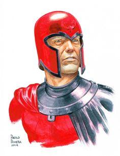 astonishingx:  Magneto by Paolo Rivera